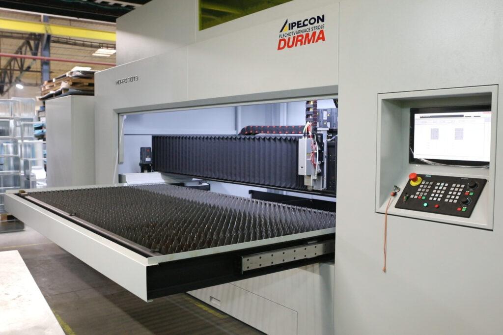 laserové páliace centrum DURMA
